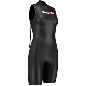 Dare2Tri Shortie Wetsuit Women Mujer, black